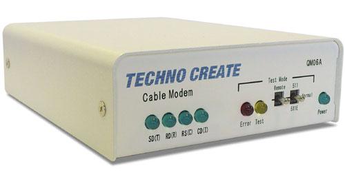 2.8Mbps構内回線用モデム : QM06A